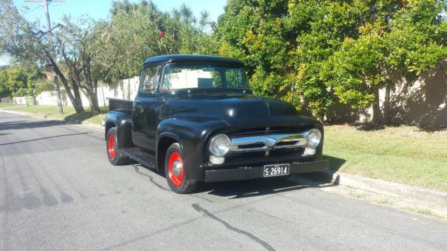 1956 Ford F100 Big Back Window Custom Cab