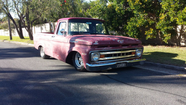 1961 Ford F100 Unibody Ratrod Patina For Sale