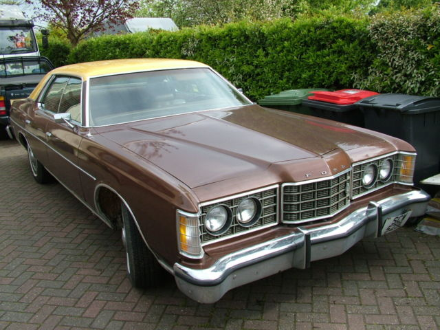 1973 FORD LTD pillarless hardtop sedan 400ci