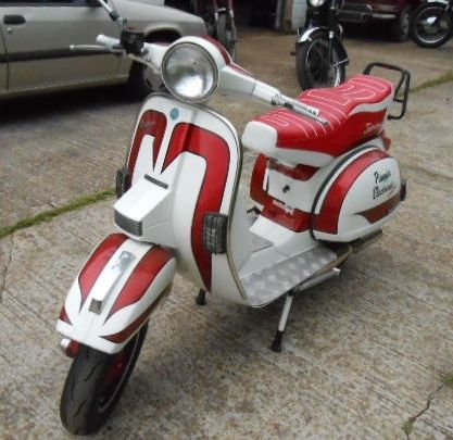 vespa px200e arcobaleno with jb tuning built malossi kitted engine for sale st leonards on sea. Black Bedroom Furniture Sets. Home Design Ideas