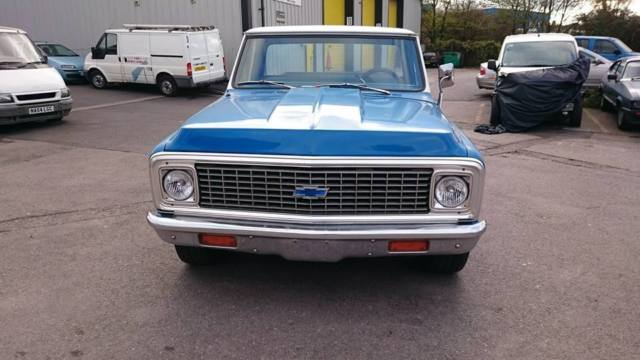 1972 chevrolet c20 pickup big block 454