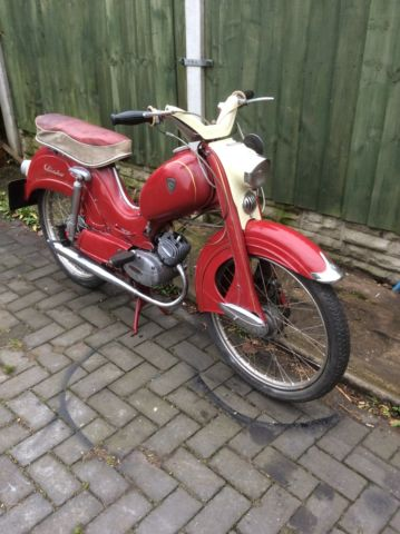 Classic motorcycle,moped,