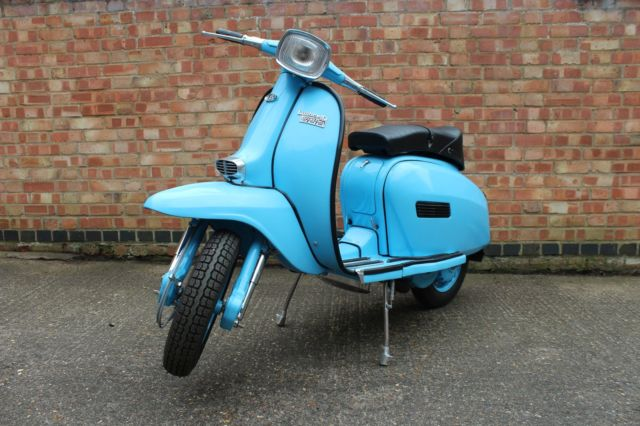 Lambretta GP150 – fully refurbished and independently MOT'd in UK