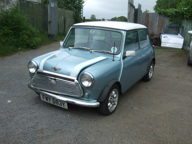 1983 AUSTIN MINI MAYFAIR AUTO BLUE