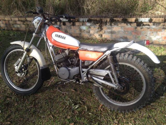 Vintage Trials Bike 90