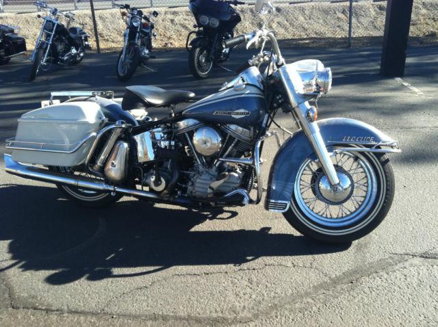 1963 Harley Davidson FLH Panhead - Original Restored
