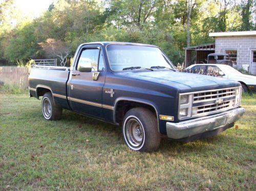 1985 Chevrolet C10 Silverado 1500 2wd