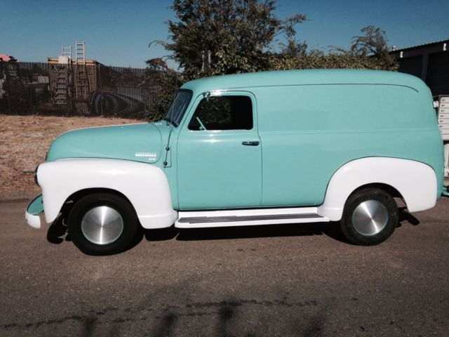 1950 chevy panel truck