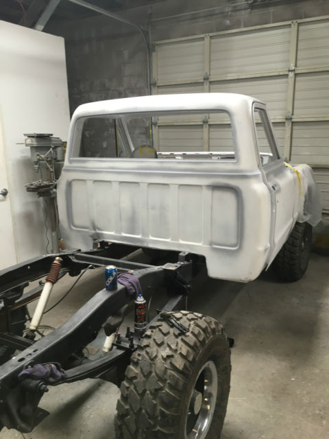 1967 K10 shortbed 4x4 total restoration