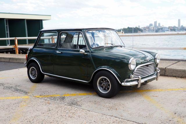 1967 Mk1 Morris Mini Cooper S 1275 YKG2S2