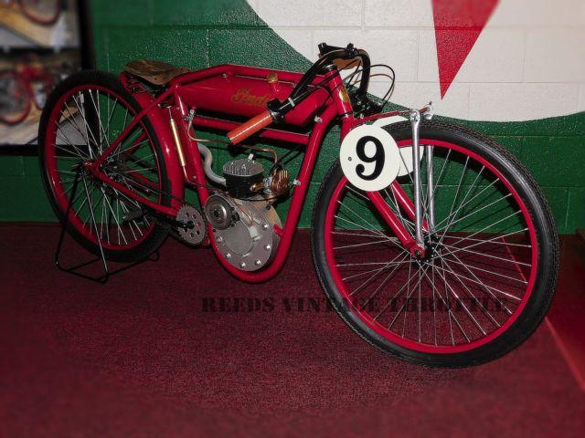 VINTAGE 1916 INDIAN BOARD TRACK RACER ANTIQUE TRIBUTE