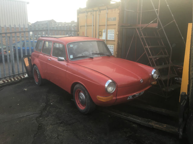 1972 Volkswagen Variant 1600 Road tax exempt twin carb wide arched
