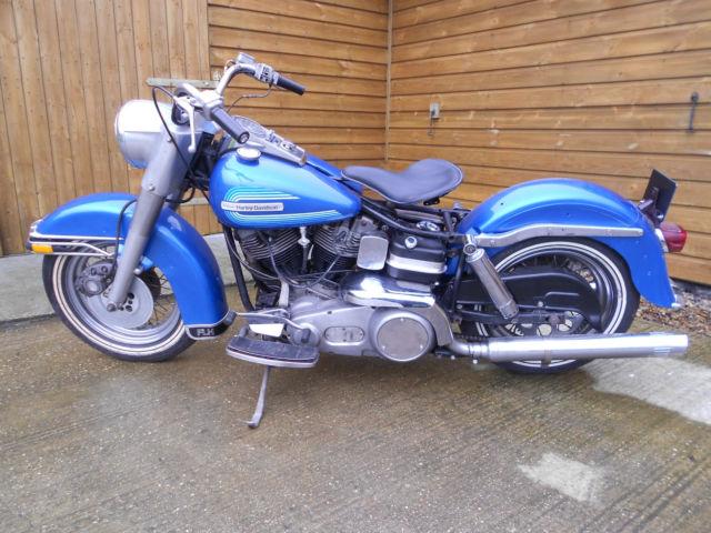 Harley Davidson Shovelhead Flh Electra Glide For Sale