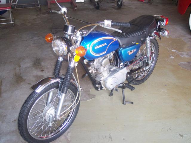 1972 Honda CL 100