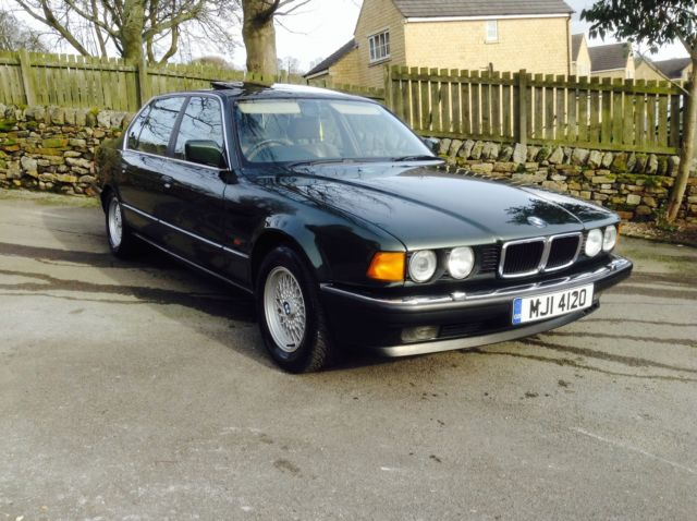 Bmw E32 V12 5.0L  highly specified rare Classic car