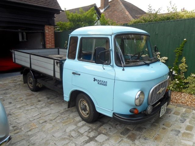1990 BARKAS B1000 CLASSIC PICK-UP TRUCK BLUE 3 CYLINDER 2-STROKE