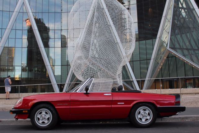 1986 Alfa Romeo Spider Veloce Convertible 2-Door 2.0L