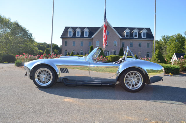 Kirkham Cobra - Polished Aluminum Body with Supercharged Shelby 468 FE at 750+HP
