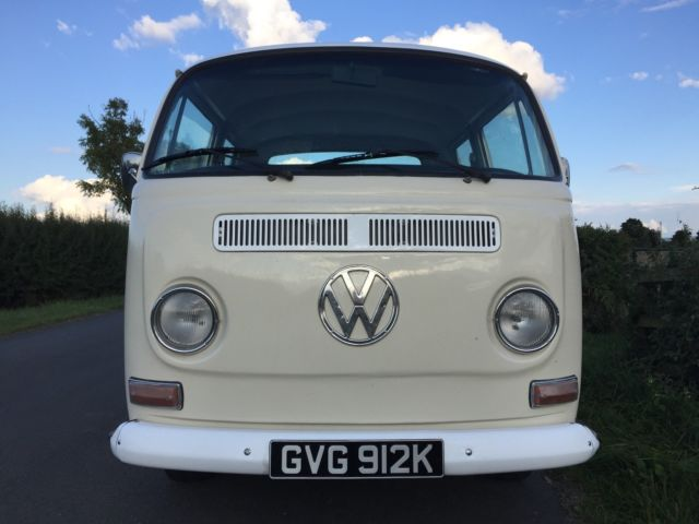 VW EARLY BAY WINDOW CREW CAB PICKUP * DOUBLE CAB 1971 TAX EXEMPT VOLKSWAGEN T2