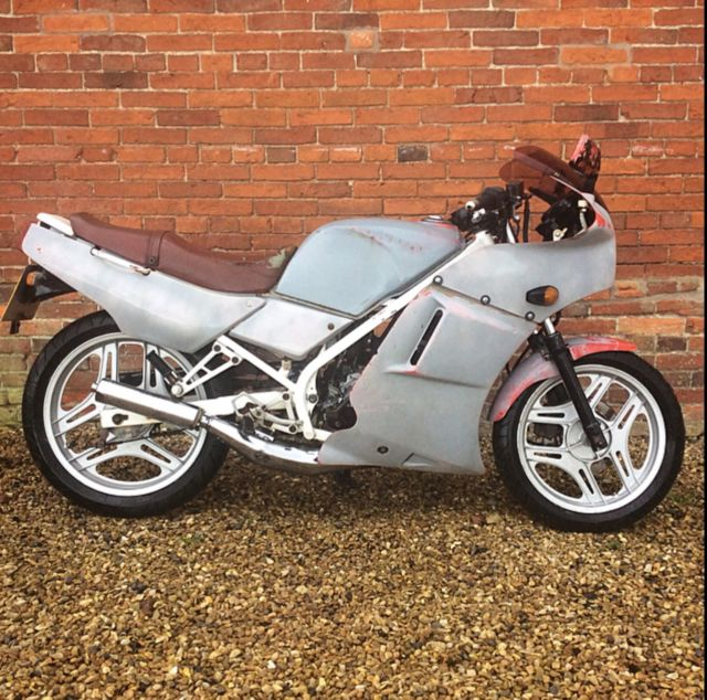 Vintage HONDA NS125 1989 motorbike classic 2 stroke barn find motorcycle rg tzr