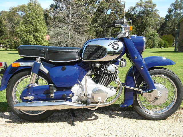 honda c78 dream motorcycle 1964
