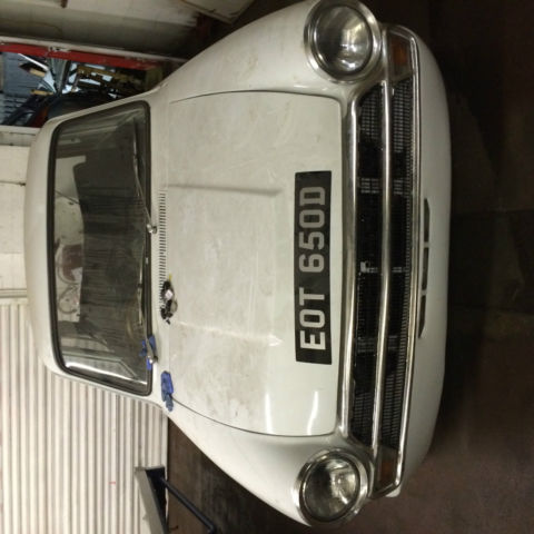 FORD CORTINA MK1 1500GT 4 Door fitted 2.0 DOHC Twin Cam Needs Work to finish