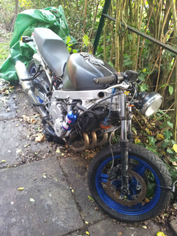 CBR600F Streetfighter unfinished project