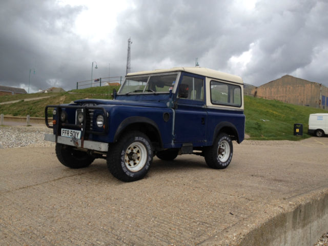 "1982 LAND ROVER 88"" Galvanized Chassis"