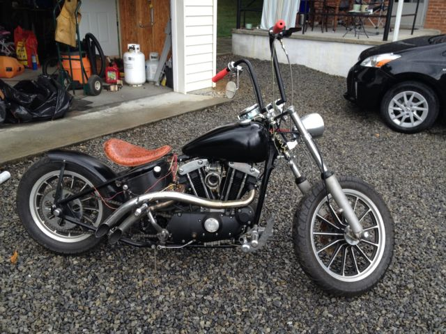 Ebay on 1974 Harley Sportster
