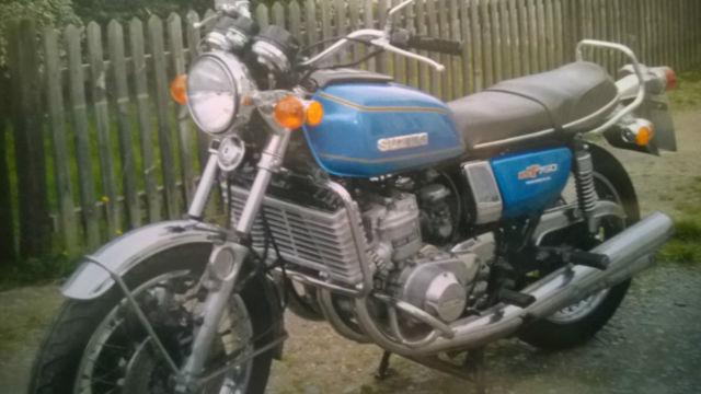 1975 Suzuki GT750A Classic Motorbike £7500 ONO