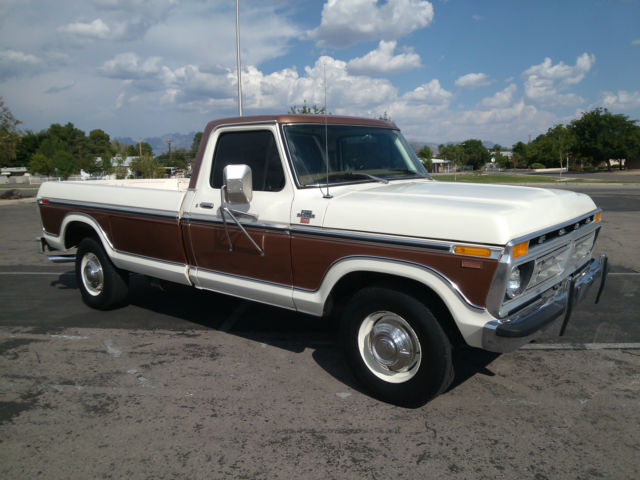 1977 Ford F-350 Camper Special