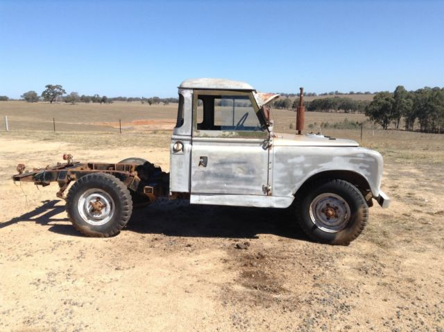 Land Rover Series 2 Cab Chassis