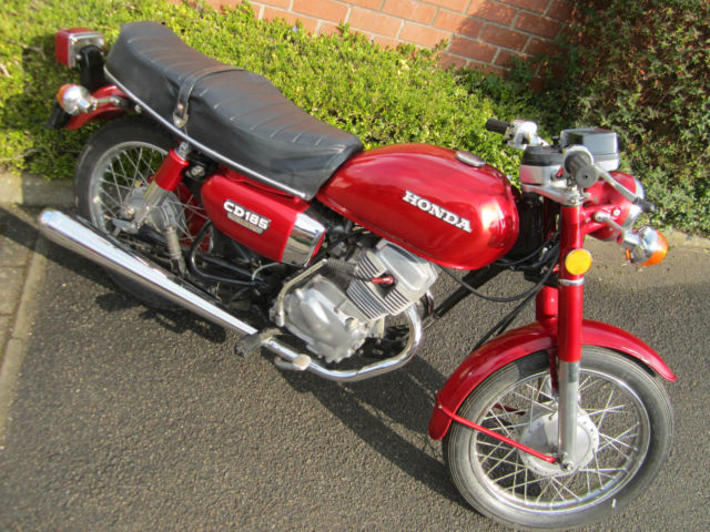 1980 HONDA CD185 TWIN *** FANTASTIC INVESTMENT OPPORTUNITY ***