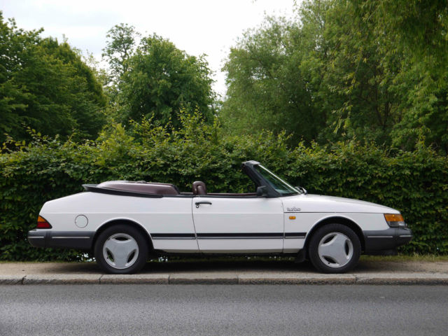 Saab 900 T16 Turbo Convertible