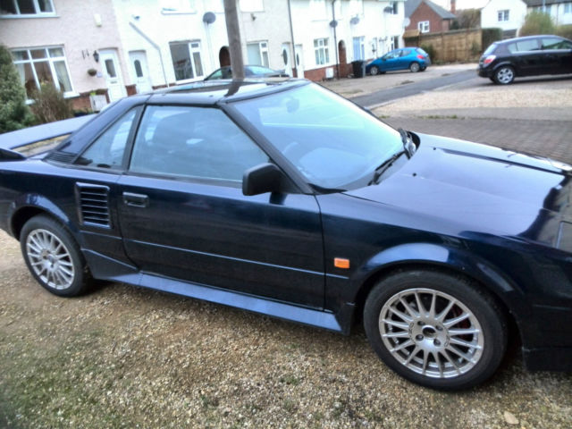 TOYOTA MR2 MK1 B T/BAR MODEL 1987 NO RESERVE!