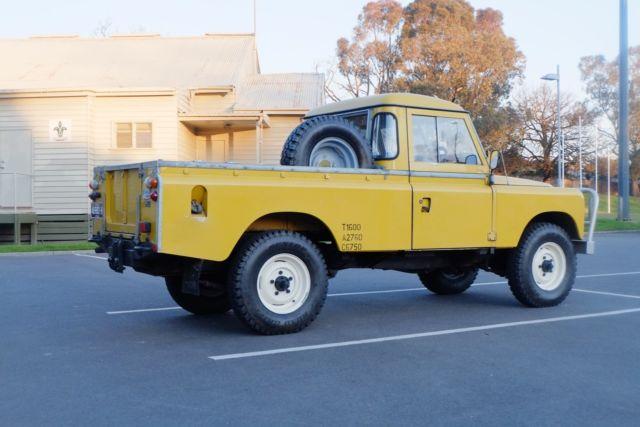 Land Rover Stage One 3 5 Ute For Sale Camberwell Victoria Australia Automotoclassicsale Com