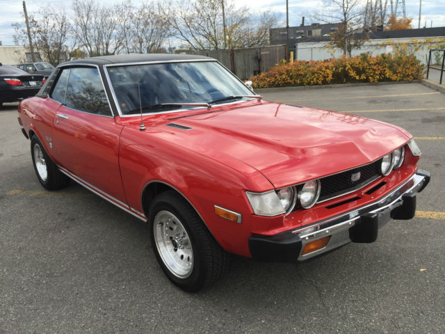 1975 toyota celica gt for sale toronto ontario canada. Black Bedroom Furniture Sets. Home Design Ideas