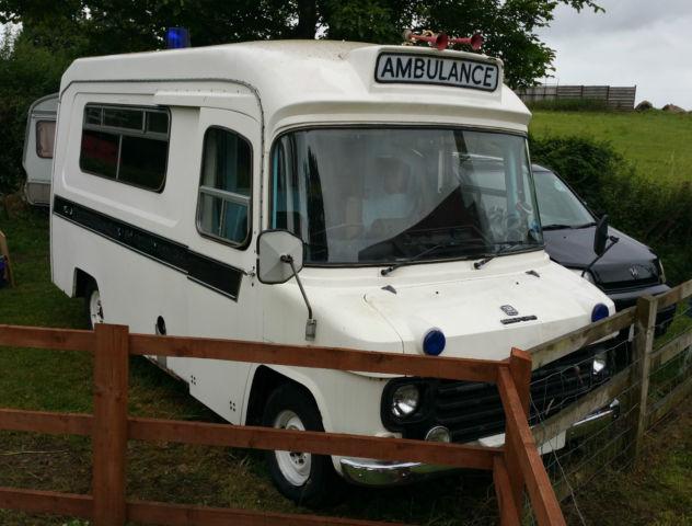 Bedford CF 280 Ambulance 2.3 Petrol Automatic 1978