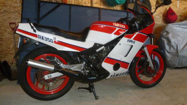 1986 Yamaha RZ350
