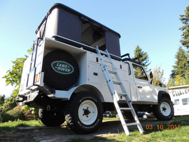 Land Rover Expedition/Camper For Sale Delta, British