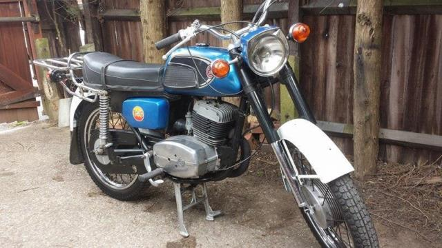Jawa Cz 125 classic 2245 miles. drives lovely