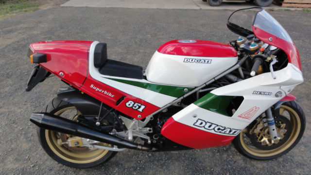 DUCATI 851 Tricolour Superbike Race Kit