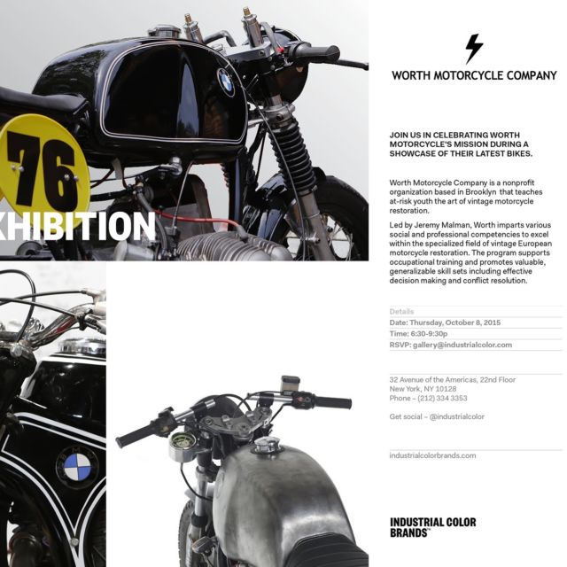1976 Bmw R606 Airhead Cafe Racer For Charity For Sale Brooklyn