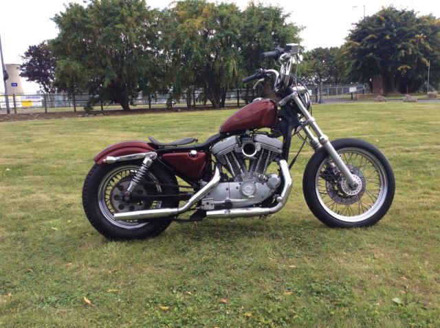 1988 Harley Davidson 1200 Sportster Bobber Style For Sale border=