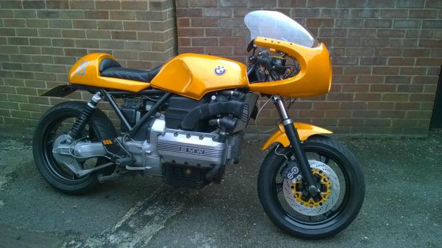 BMW K 100 RS 16v Cafe Racer Bobber Project Custom Bike