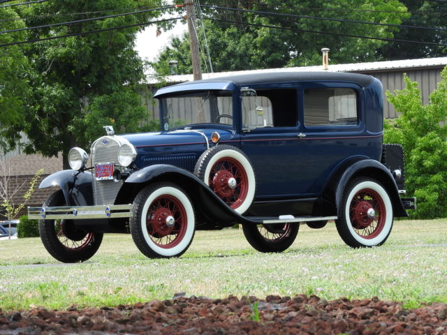 1930 Ford Model A Tudor Deluxe, EXCEPTIONAL!