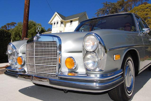 Native California Mercedes 280 SE