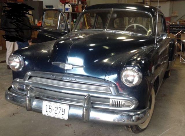 1951 CHEVROLET DELUX