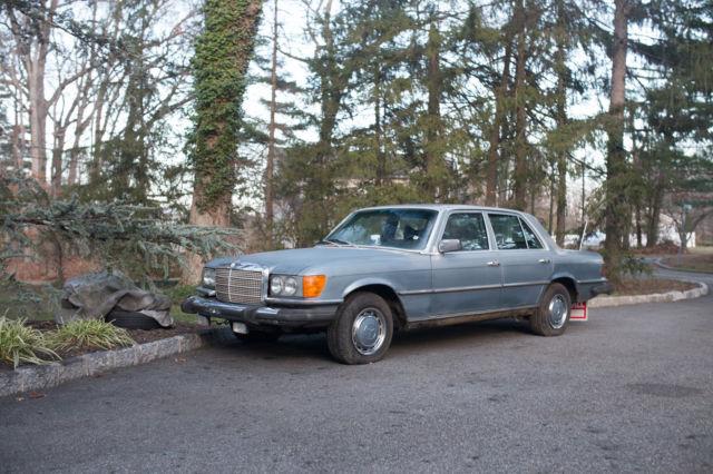 1975 Mercedes-Benz W116 280S Restoration - RARE SWB BODY - LESS THAN 100k
