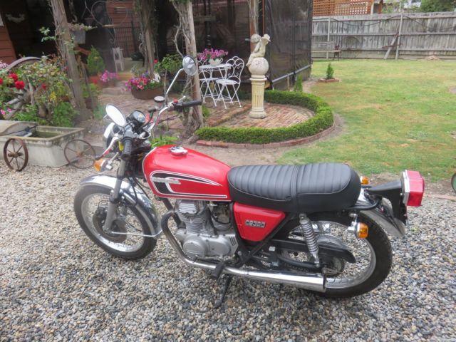 HONDA CB360  1973